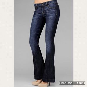 7 For All Mankind Jiselle Phenomenal Flare Jeans